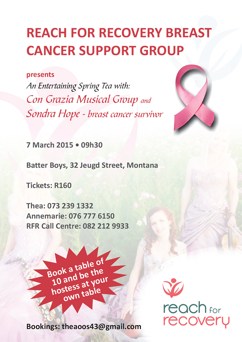 Breast cancer and support group