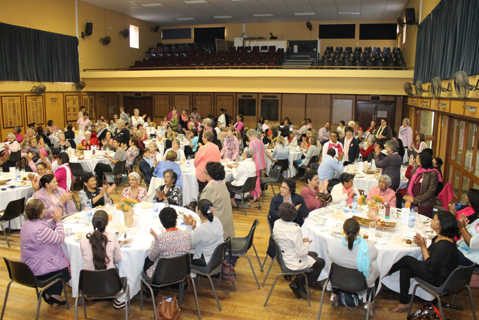 Guests attending the Paarl Reach for Recovery Breast Cancer Awareness Tea