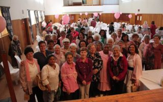 Breast cancer survivors at the Paarl Reach for Recovery High Tea