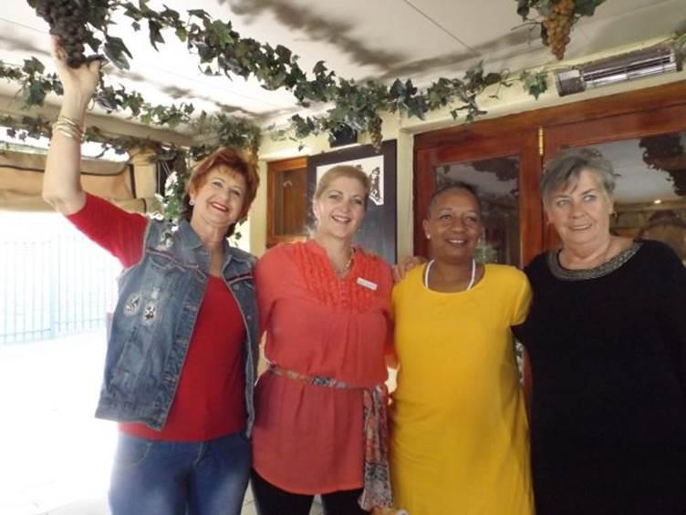 RFR Pretoria committee members: Annemarie, Chrisna, Rita and Connie